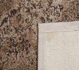 Tabriz tapijt bruin_