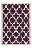 Design modern vloerkleed Manoa Purple_