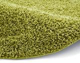 Effen vloerkleed Praxus kleur groen 2236_