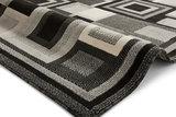 Action vloerkleed kleur zwart grijs 3222_