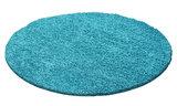 Turquoise vloerkleden Adriana Shaggy  1500/AY Turquoise_