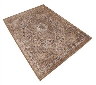 Tabriz tapijt bruin
