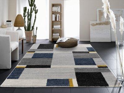 Vloerkleed Blauw Grijs : Grijs blauw vloerkleed voordelig snel online kopen tapijtenwebshop