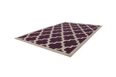 Design modern vloerkleed Manoa Purple
