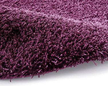 Effen vloerkleed Praxus kleur purple 2236