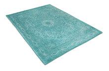 Vloerkleed-Tabriz--Aqua