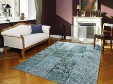 Vintage-turquoise-vloerkleden-New-York-486-Turquoise