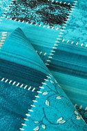 Retro-vloerkleed-Romantic-3830-Turquoise