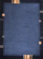 Handgeknoopte-wollen-vloerkleden-Nepal-Plus-92602-Blauw