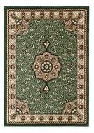 groen klassiek karpet