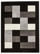 zwart grijs karpet