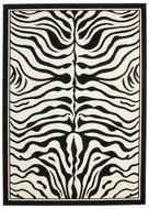 Print-vloerkleed-Transit-Zwart-Wit