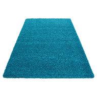 turquoise vloerkleed